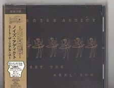 """Japan CD Import with Obi Strip, Noise Addict; """"Meet The Real You"""" TOCP 8834"""
