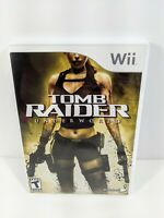 Tomb Raider: Underworld (Nintendo Wii 2008) Complete With Manual - Case Defect