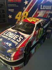 ☆ NEW JIMMIE JOHNSON 2003 LOWES POWER OF PRIDE 1/24 ACTION Diecast  1 of 14776