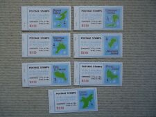 7X 1976 Grenadines of St Vincent booklets. Stamps from seven different islands.