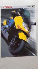 Yamaha T-Max 500 scooter 2001 depliant originale motorcycle brochure