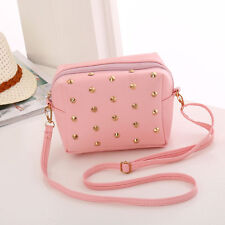 Women little Stud Purse Satchel Message Shoulder Small Bag Girl's Handbag New