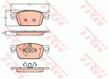 Pattini freno anteriori TRW AUDI A4-A5 dal 2015 >  GDB2127 8W0698151Q