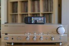 Denon PMA-680R amplifier, champagne silver with MM /MC phono stage & remote