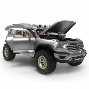 1:32 Ener G Force SUV Concept Model Car Diecast Toy Sound & Light Silver Kids