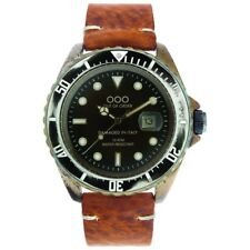 NEW OOO(OUT OF ORDER WATCH) SCORPIONE Light Brown 44mm Damaged In Italy