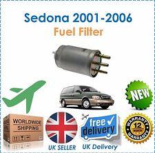 Fits Kia Sedona 2.9 144 BHP 2001-2006 Diesel Fuel Filter NEW OE Quality!