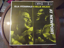 ella fitzgerald billie holiday at newport - Verve 2304 293