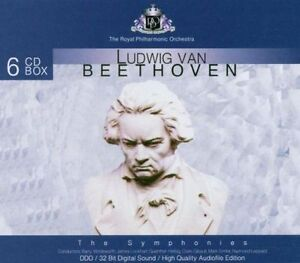 """Royal Philharmonic Orchestra """"Beethoven: Complete Symphonies"""" NEW & SEALED 6CDs"""