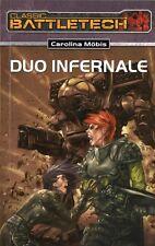 CLASSIC BATTLETECH-Bd.16: DUO INFERNALE-CAROLINA MÖBIS-Science Fiction-Roman