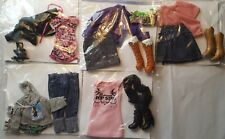 Barbie Doll Size Clothes Lot Pre-owned