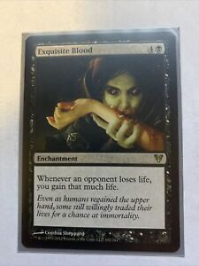Exquisite Blood - MP - Avacyn Restored - Magic: The Gathering - MTG Rare