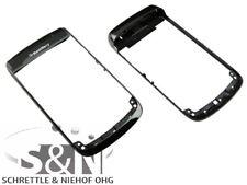 Original Blackberry 9700 Frontcover Gehäuse Rahmen, schwarz black