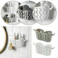 Kitchen Bathroom Sponge Sink Tidy Holder Suction Strainer Organizer Basket P0N3