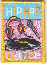 """""""HIP HOP DANCE"""" PATCH  - Iron On Embroidered Patch/Dance/Dancing"""