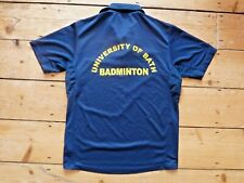 UNIVERSITY OF BATH  sports top badminton running SIZE medium