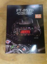 YAESU FT 857D Full Colour Product Leaflet 4 page - double sided opens to poster