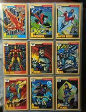 1991 Impel Marvel Universe Series 2 Trading Card set - Base 162 card set -@-@-