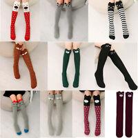 Cute Baby Kids Girls Knee High Socks Tights Cartoon Animal Leg Warmer Stockings