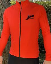 J2velosport New Men Cycling Jersey Winter Thermal Fleece Long Sleeve