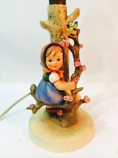 "Vintage Goebel M.I. Hummel Lamp ""GIRL IN APPLE TREE"" #229 RARE!"