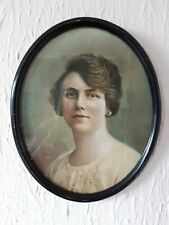 1920/30 Oval Picture frame Plaster On Wood