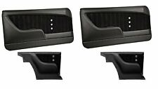 Sport XR Molded Door & Quarter Panel Set - Black - for 1967 Camaro by TMI