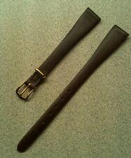Ladies Vintage NOS JB Champion 12mm Dark Brown DuPont Corfam Watch Band