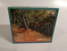 """Marian Hirsch """"Aspen Grove"""" 550 Piece Jigsaw Puzzle 18"""" X 24"""" MB® ~ Brand New!"""