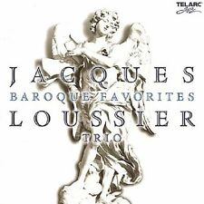 Jacques Loussier - Baroque Favorites Jazz Improvisations [CD]
