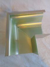 """GUTTER CORNER SECTION 6"""" Aluminum Clay K Style Replacement"""