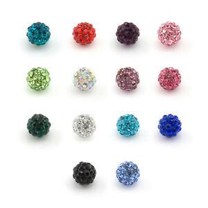 Spare SHAMBALLA Crystal Disco Gem Balls Suitable For All Piercing Types