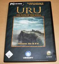 PC GAME gioco Uru-The Path of the shell incl. Uru to D 'ni (Ages Beyond Myst)