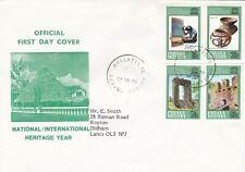 Guyana 1978 Heritage Year FDC VGC