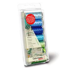 Gutermann 100 Percent Viscose Rayon 40 Machine Embroidery Thread Set, Paradise