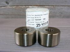 Fette Thread Roll Rolling Dies M14x15 Nice Conditon Read A