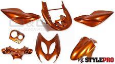 Capot verkleidungssetverkleidungsteile orange métallique nitro aerox