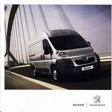 Peugeot Boxer 08 / 2013 catalogue brochure