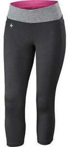 Specialized Shasta 3/4 Tight Women X Small Black Heather Padding