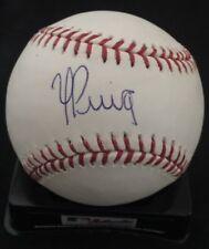 DODGERS YASIEL PUIG AUTOGRAPHED RAWLINGS MLB BASEBALL PSA DNA ROOKIEGRAPH R22798