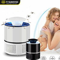 Mosquito Killer LED Light Lamp USB Anti Fly Electric Bug Zapper Insect Trap