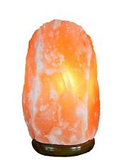Natural Himalayan Crystal Asthma Ionized Rock Salt Lamps 2 ~ 4 lbs