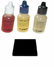 Test Kit-Gold, Silver And Platinum Test Acid With Test Stone. For Coins, Bullion