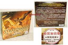 "Stratovarius Nemesis Taiwan Ltd CD Digipak With Bonus Trks (""Fireborn""、""Hunter"")"