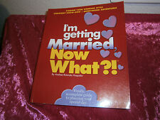 I'm Getting Married-Now What?! -Andrea Rotondo Hospidor PB 2001 complete guide