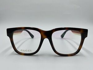 NEW GUCCI GG0342OA 004 Multicolor Frames Optical 53-17-155 Authentic Italy