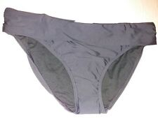 BNWT 20Black Roll Top Hipster Bikini Bottoms Marks and Spencer