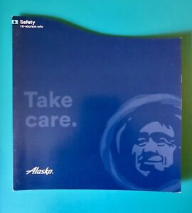 ALASKA AIRLINES SAFETY CARD--737-800/900 WITH RAFTS --06/16