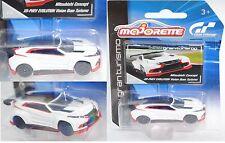 Majorette 212054050 Mitsubishi Concept Vision Gran Turismo mit Sammlerflyer 1:64