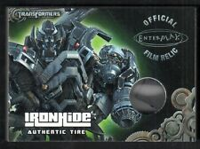 TRANSFORMERS OPTIMUM COLLECTION 2013 OFFICIAL FILM RELIC Card #TP1 IRONHIDE TIRE